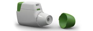 Inhalador – imágenes 3D
